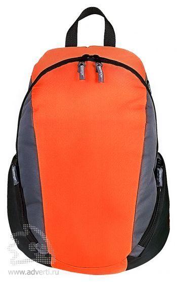 Рюкзак «Slazenger» с противоударным отделением для ноутбука, оранжевый