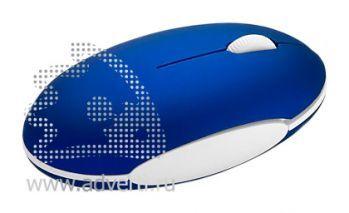 Мышка оптическая «Mikky», синяя