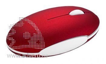 Мышка оптическая «Mikky», красная