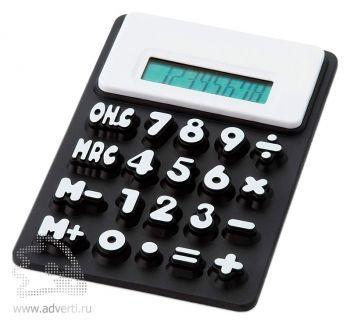 Калькулятор «Splitz», черный