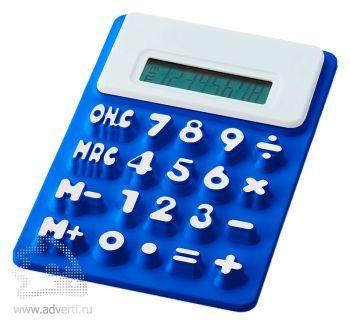 Калькулятор «Splitz», синий