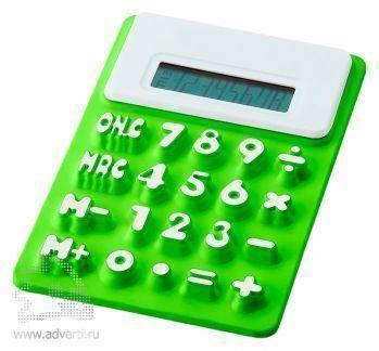 Калькулятор «Splitz», зеленый