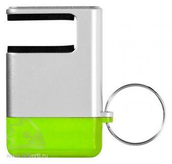 Подставка-брелок «GoGo» для мобильного телефона, зеленый