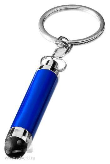 Брелок «Aria» со стилусом, синий