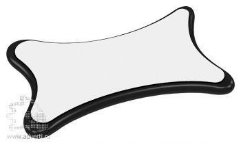 Стилус-салфетка для экранов «Cardi», белый