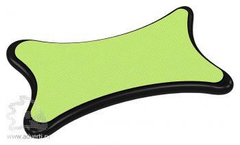 Стилус-салфетка для экранов «Cardi», зеленый