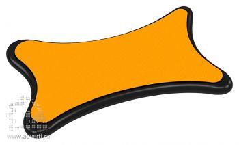 Стилус-салфетка для экранов «Cardi», оранжевый