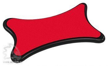 Стилус-салфетка для экранов «Cardi», красный
