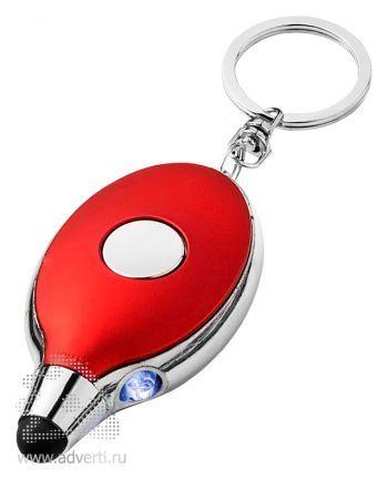 Фонарик-стилус «Presto», красный