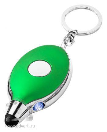 Фонарик-стилус «Presto», зеленый