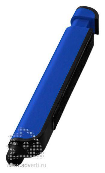 Шариковая ручка-стилус «Tracey» и очиститель экрана, синяя