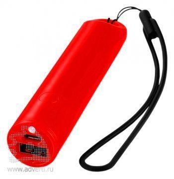 Зарядное устройство «Beam» 2200 mAh, красное