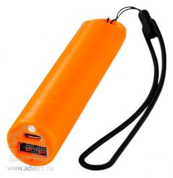 Зарядное устройство «Beam» 2200 mAh, оранжевое