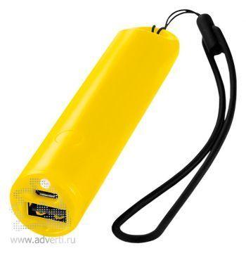 Зарядное устройство «Beam» 2200 mAh, желтое