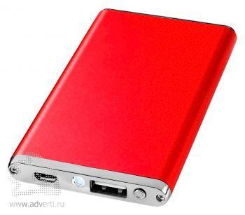 Зарядное устройство «Taylor» 2200 mAh, красное