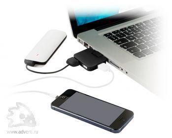 USB Hub «Gaia» на 4 порта, применение