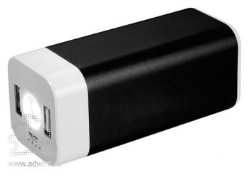 Зарядное устройство «Mega Volt» 8000 mAh, черное