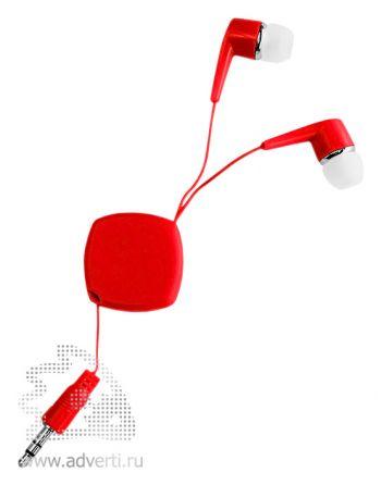 Наушники «Dime», красные