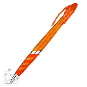 Ручка шариковая «Премьера», оранжевая