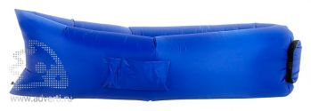 Надувной диван «Биван», синий