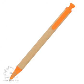 Ручка шариковая «Эко», оранжевая