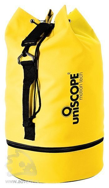 Рюкзак «Idaho» с отделением для обуви, желтый