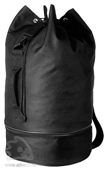 Рюкзак «Idaho» с отделением для обуви, черный