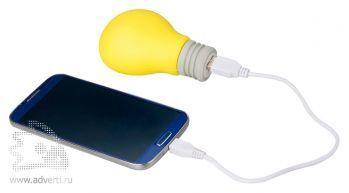 Портативное зарядное устройство «Lamp» 2600 mAh, применение