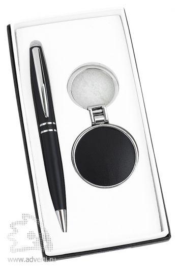 Набор: ручка, брелок «Ампир»