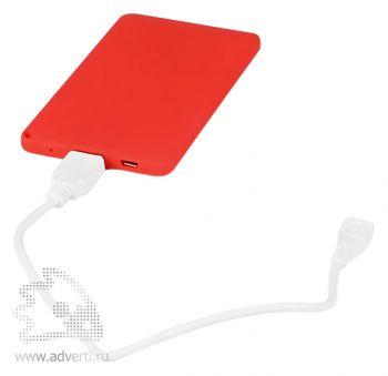 Портативное зарядное устройство «Фелиция», usb провод