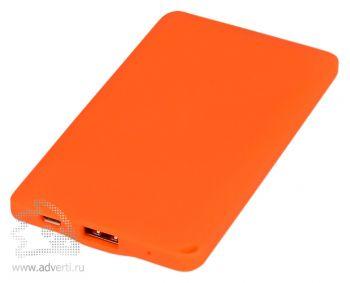Портативное зарядное устройство «Фелиция», оранжевое