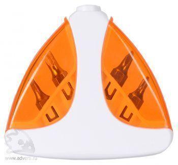 Набор отверток «Лепесток», оранжевый