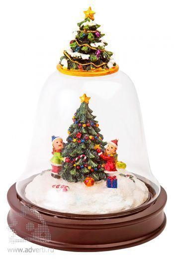 Новогоднее украшение «Рождественское утро»