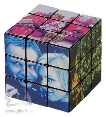 Кубик Рубика 3х3 Новогодний, пример картинки