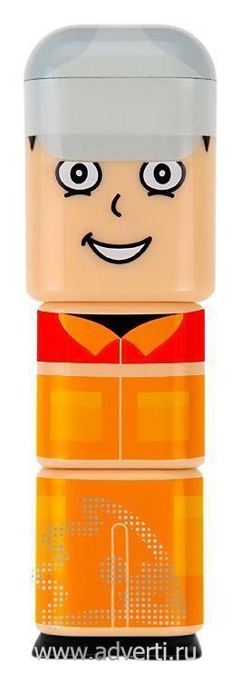 Портативное зарядное устройство «Power Man», пример нанесения