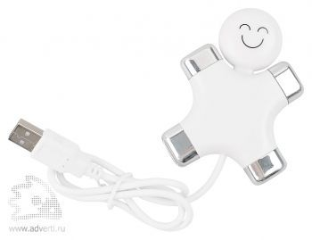 USB Hub на 4 порта «Эскимос», usb провод