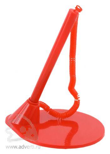 Ручка с подставкой «Ньор», красная