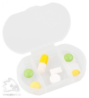 Футляр для таблеток и витаминов «Личный фармацевт», открытый