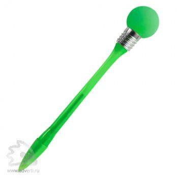 Ручка шариковая «Лампочка», зеленая
