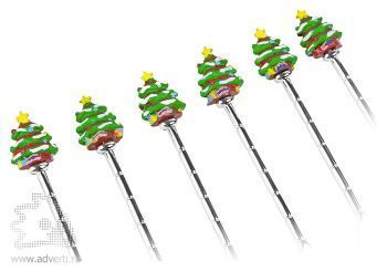 Набор ложек «Рождественская ель», дизайн елей