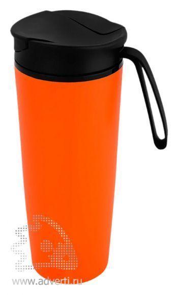 Термокружка «Годс», оранжевая