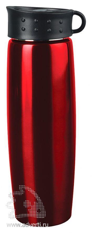 Термос «Хайк», красный