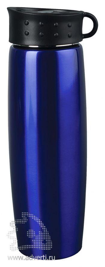 Термос «Хайк», синий