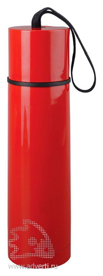 Термос «Нарвик», красный