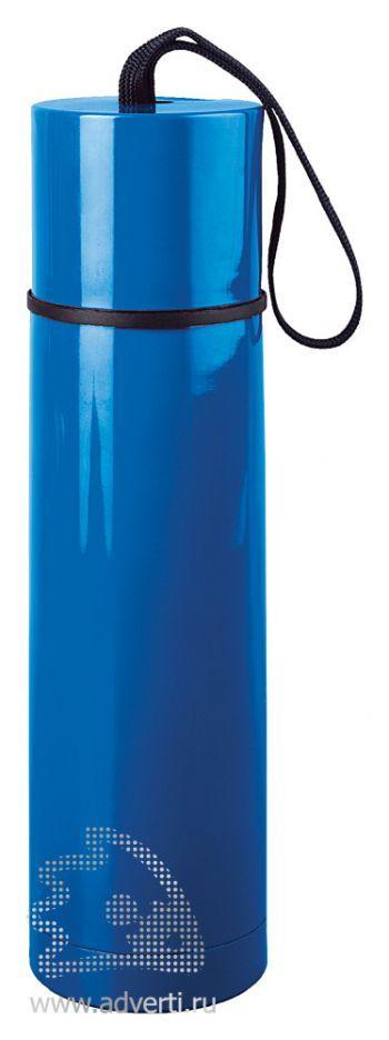 Термос «Нарвик», синий