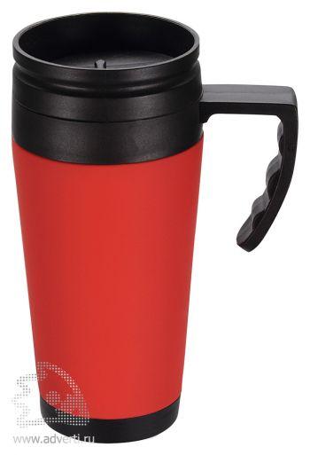 Кружка с термоизоляцией «Анды», красная