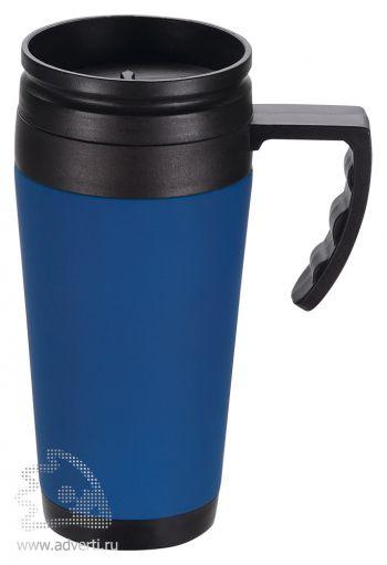 Кружка с термоизоляцией «Анды», синяя