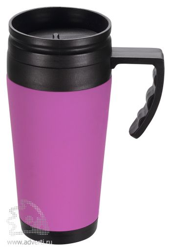 Кружка с термоизоляцией «Анды», фиолетовая