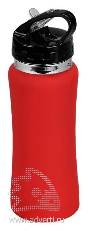 Спортивная бутылка «Коста-Рика», красная
