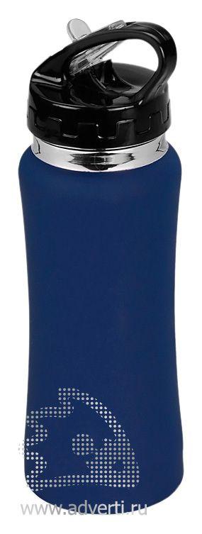 Спортивная бутылка «Коста-Рика», синяя